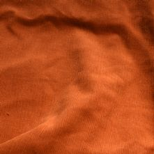 Orange Needle Corduroy Fabric